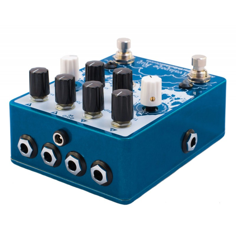 avalanche run stereo delay reverb with tap tempo wormex. Black Bedroom Furniture Sets. Home Design Ideas
